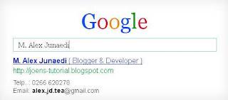 Membuat Google Business Card, Card Name, Business card, Kartu Nama