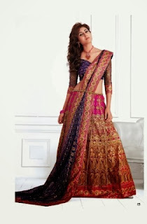 Latest-Bridal-A-Line-Lehenga
