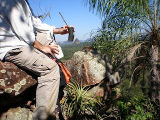 Cerro Cora tomando teres
