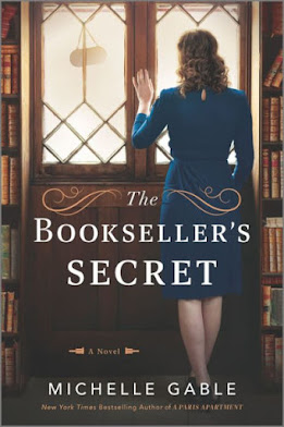 The Bookseller's Secret: A Novel of Nancy Mitford and WWII by Michelle Gable