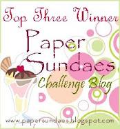 I won  Top 3