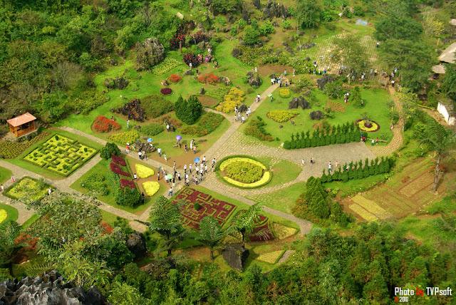 Ham Rong gardens - Sapa - Vietnam
