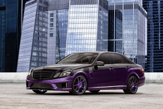 mercedes purple