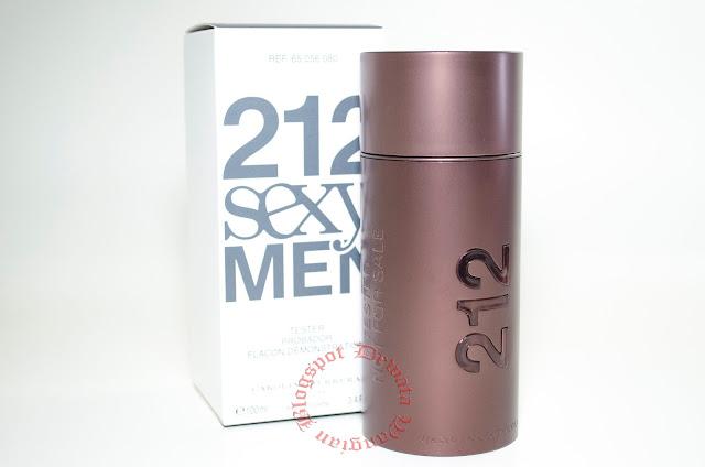 Carolina Herrera 212 Sexy Men Tester Perfume