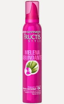 Fructis Melena Abundante espuma efecto densidad