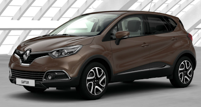 Renault Captur Colours Renault Captur Chestnut