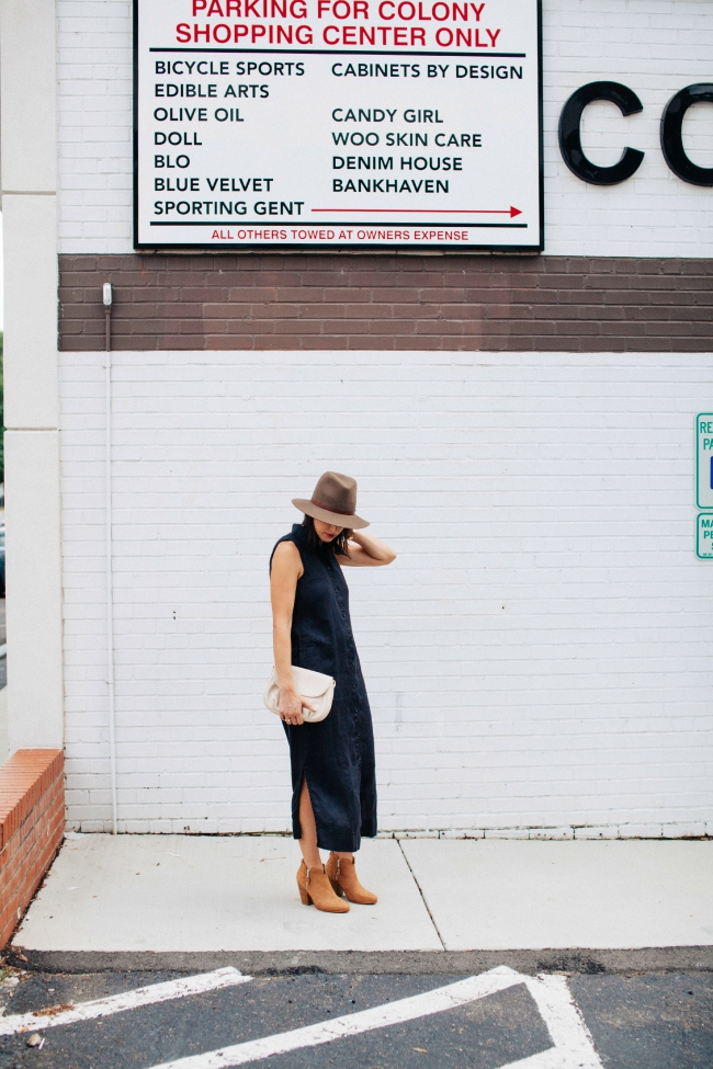 How to wear a summer dress for fall