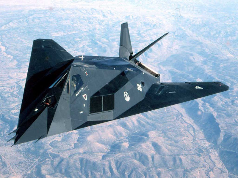 F-117A Nighthawk Stealth Fighter Attack Aircraft