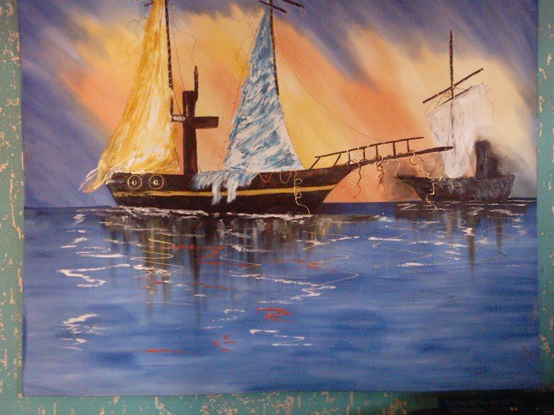 """""""Velha Embarcação"""" por Lu Rosa"""
