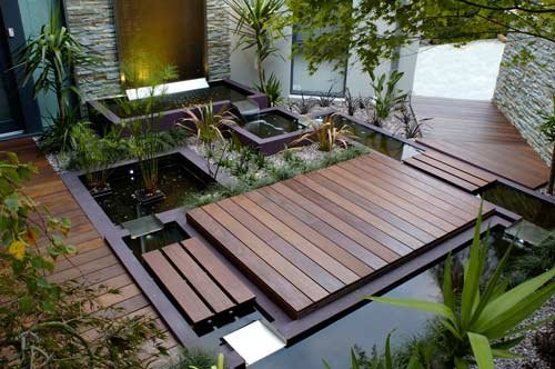 Landscape design ideas 5 water garden landscaping ideas for Water garden ideas