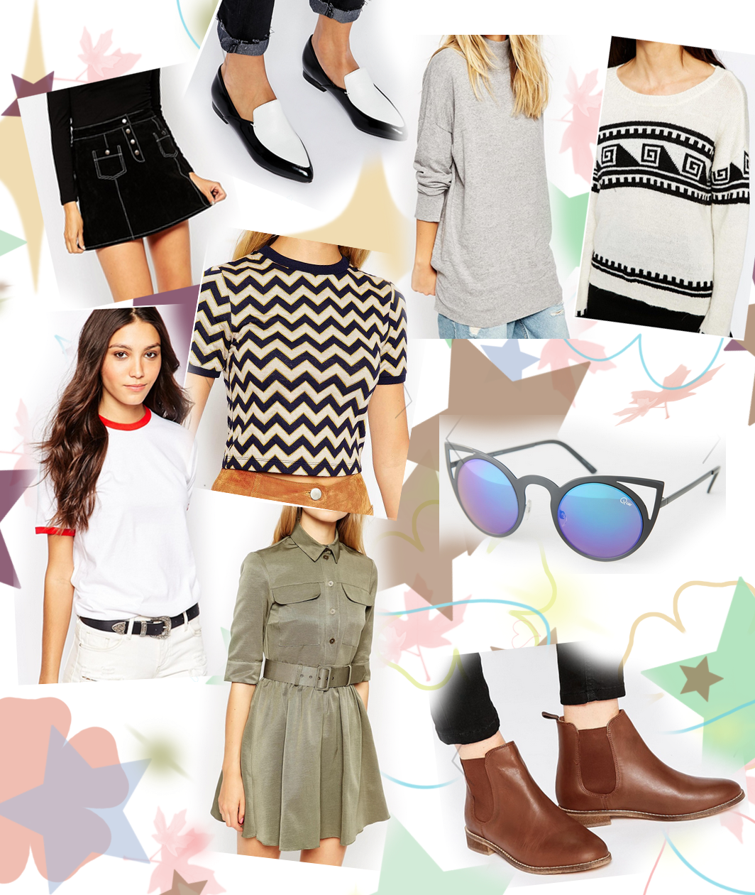 asos wishlist collage