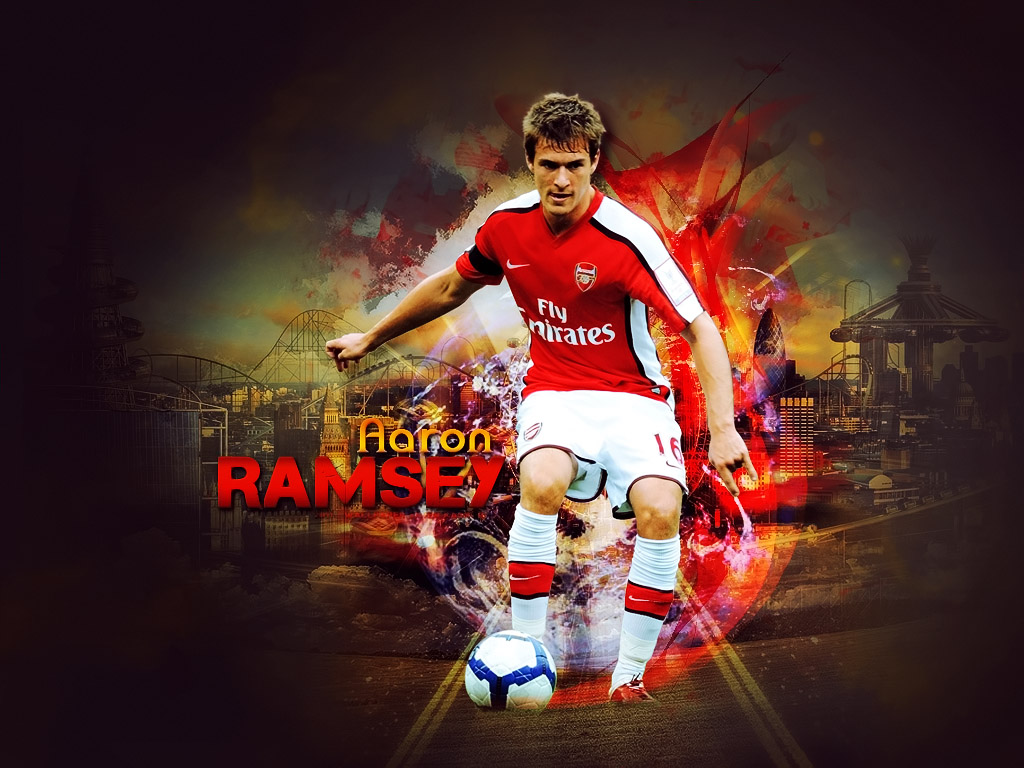 All Soccer Playerz HD Wallpapers: Aaron Ramsey HD