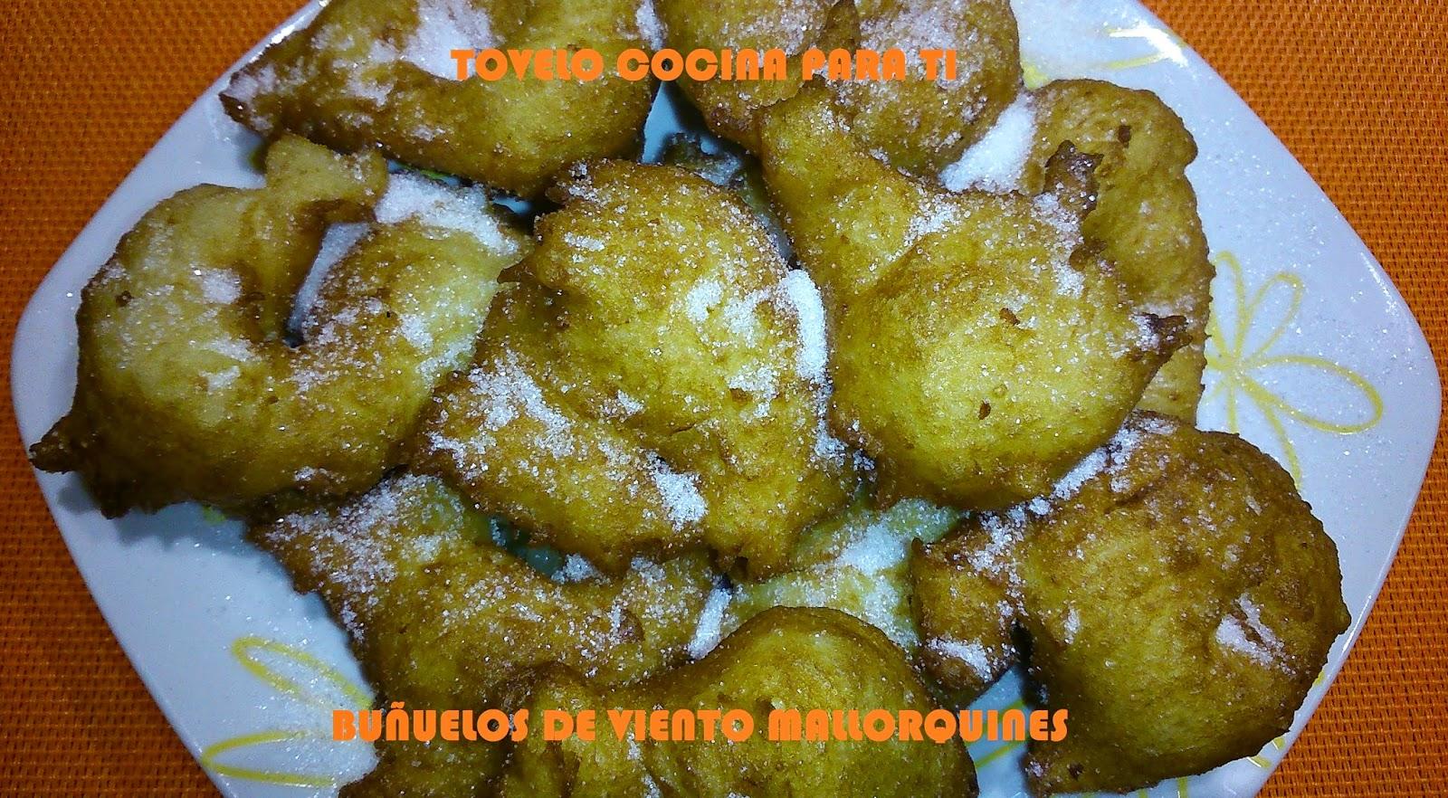 Buñuelos De Viento Mallorquines De Patata Y Boniato