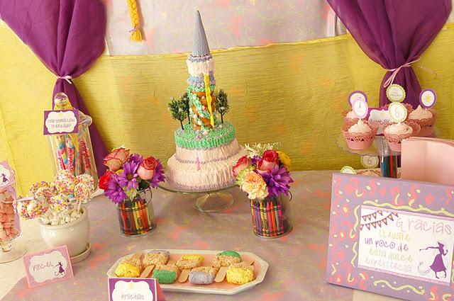 Karas Party Ideas Rapunzel + Tangled Art Party  Karas Party Ideas
