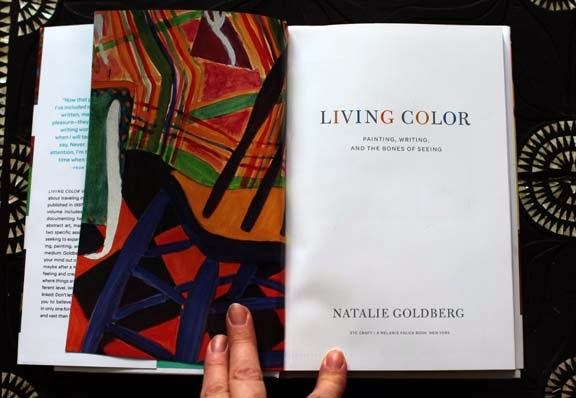 Getting Stitched on the Farm: Living Color - Natalie Goldberg\'s New ...