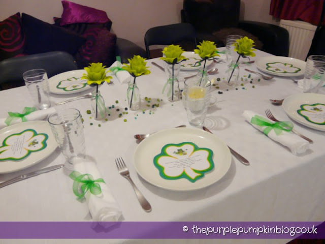 Table Decoration – St. Patrick's Day Dinner Party