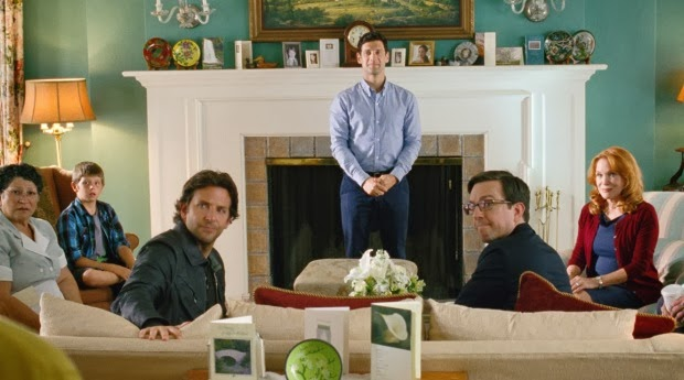 Doug, Phill and Stu wait for an intervention with Alan in The Hangover Part III