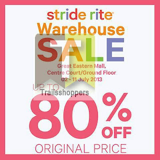 Stride Rite Warehouse Sale 2013