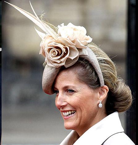 looking up looking down royal wedding hats