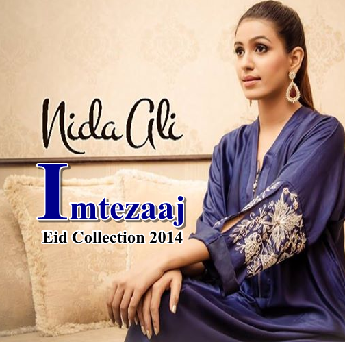Nida Ali Imtezaaj Eid Collection 2014