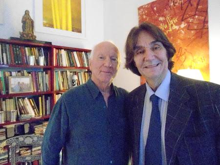 SYLVIO BACK(cineasta) e VICENTE DE PERCIA( crítico e Escritor)