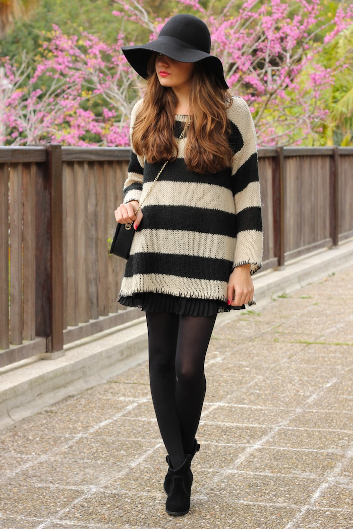 streetstyle_look_style_fashion_moda_outfit_blogger_fashionblogger_sombrero_H&M_vestido_rayas_punto_angicupcakes10