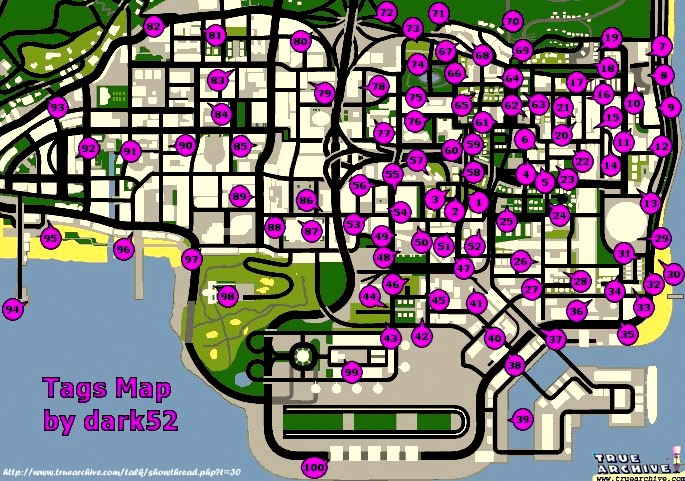 Gta Sanandreascom Tag Locations Map | Autos Post