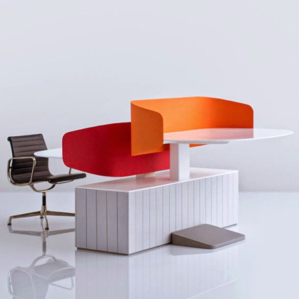 Cool office furniture design by london studio industrial for Cool furniture london