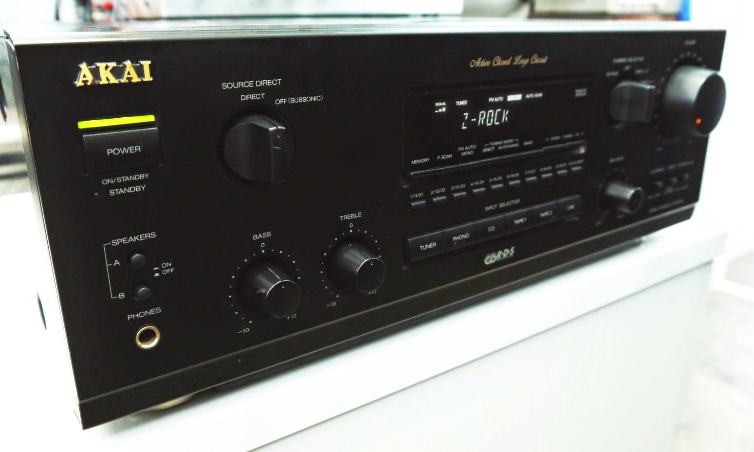 Akai Aa 49 Stereo Receiver Audiobaza