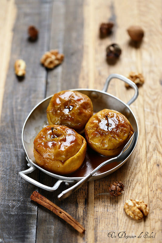Pommes rôties au four