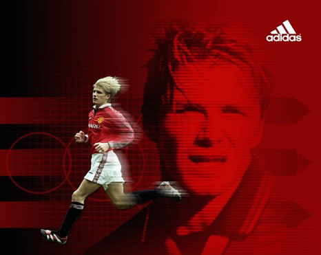 David beckham - Manchester united david beckham wallpaper ...