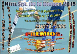 Villablanca Alberga el XXXV Campeonato de Fútbol Sala Ntra. Sra. de la Blanca