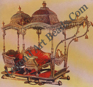 A remnant of princely glory: In 1980 ails magnificent howdah once the property, of the royal family of Baroda came up for, sale in Germany.