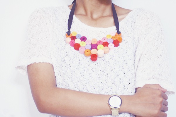 Colorful Zipper Necklace II