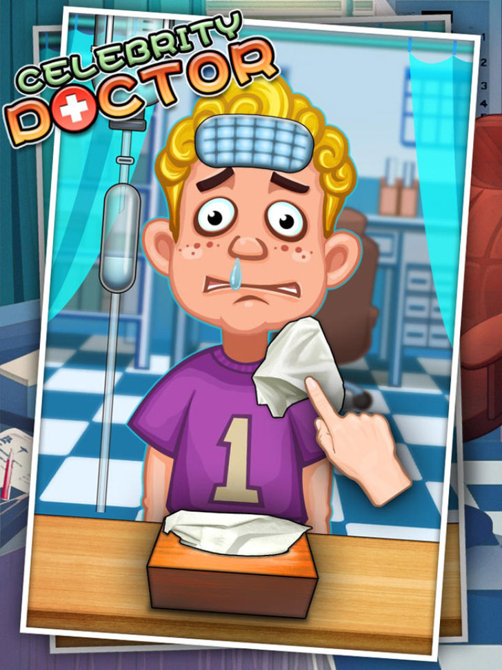 Celebrity Doctor - Free games App iTunes App By George CL - FreeApps.ws