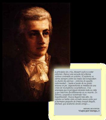 Fragmento biografía Mozart por Arturo Reverter