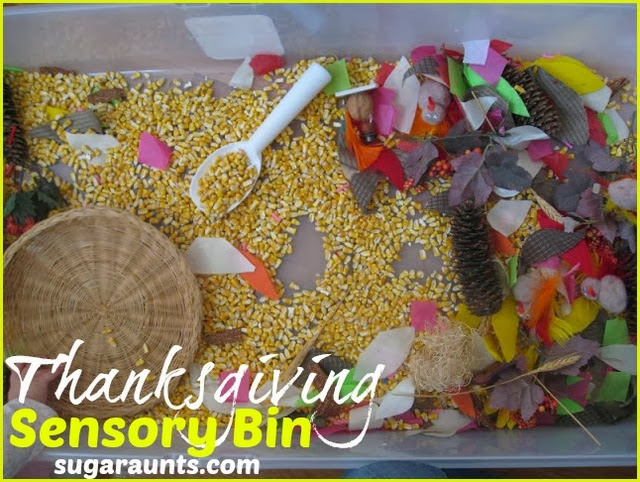 Thanksgiving Sensory Bin The Ot Toolbox