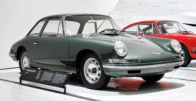 Automóvil Porsche 901, primer 911