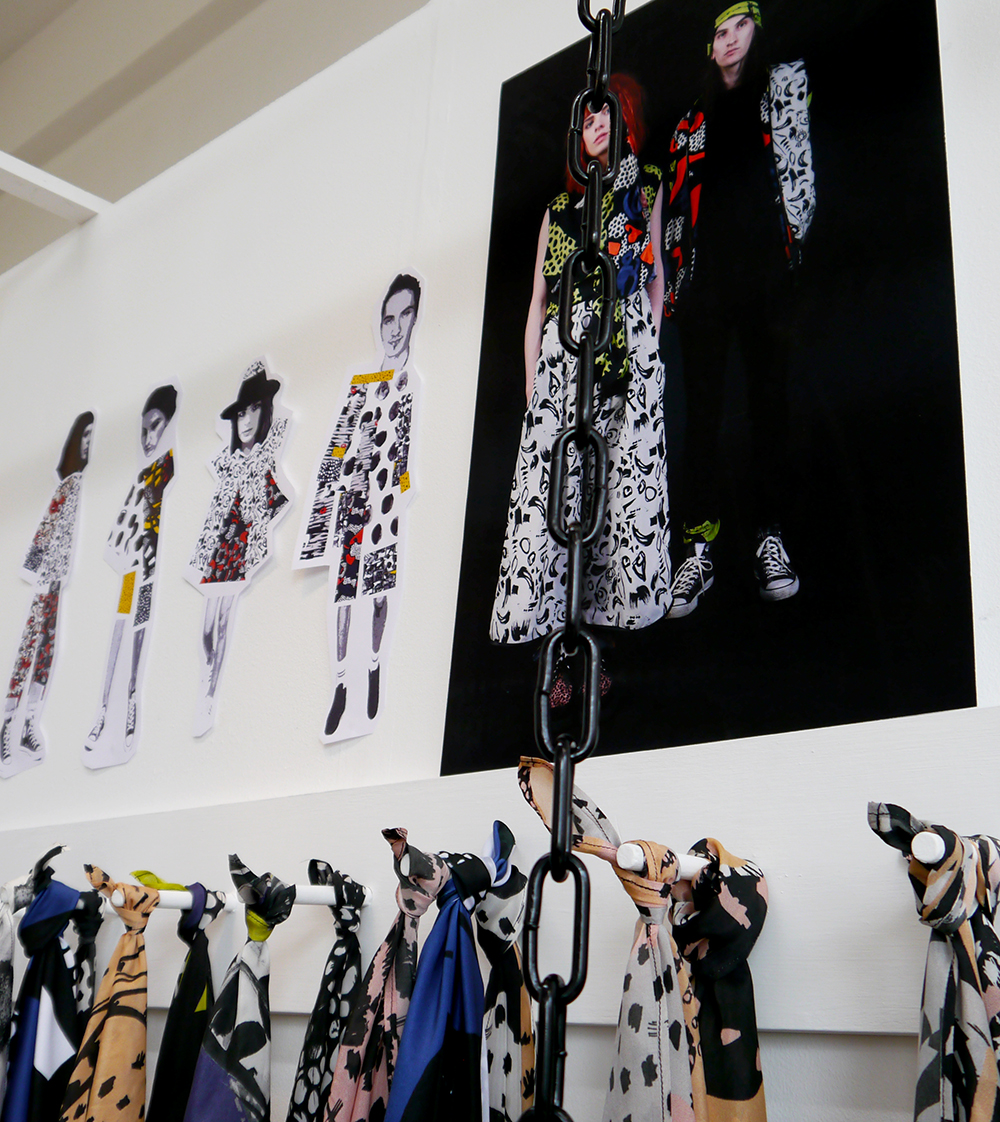DJCAD, Duncan of Jordanstone College of Art and Design, degree show, Dundee, degree show 2015, #djcaddegreeshow, #djcaddegreeshow15, textile design, printed fabric, street style, Shauna McGregor