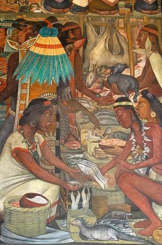 Amicus curiositatis omnivore 39 s delight or a short for Diego rivera aztec mural