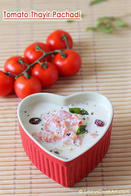 Tomato Thayir Pachadi