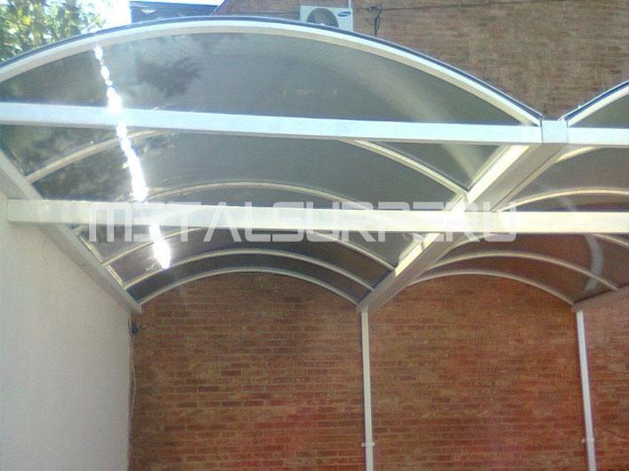 Techos para patios coberturas met licos arequipa for Techos de policarbonato para exteriores