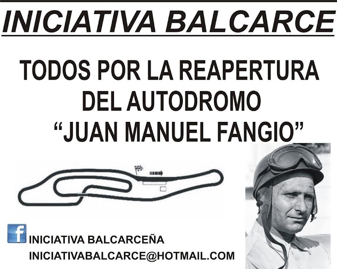 "Iniciativa balcarceña: ""Hoy queremos ver la reapertura del autódromo"""