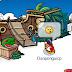 ¡Rockhopper ancla en la isla!