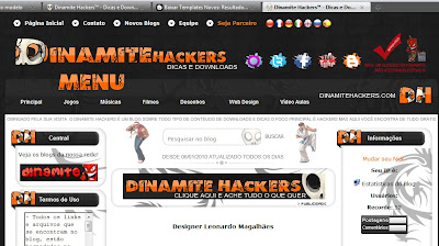 Template Dinamite Hackers 