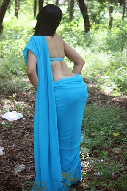 Rozlyn Khan hot sexy bikini image wet saree showing big asset रोजलीन खान