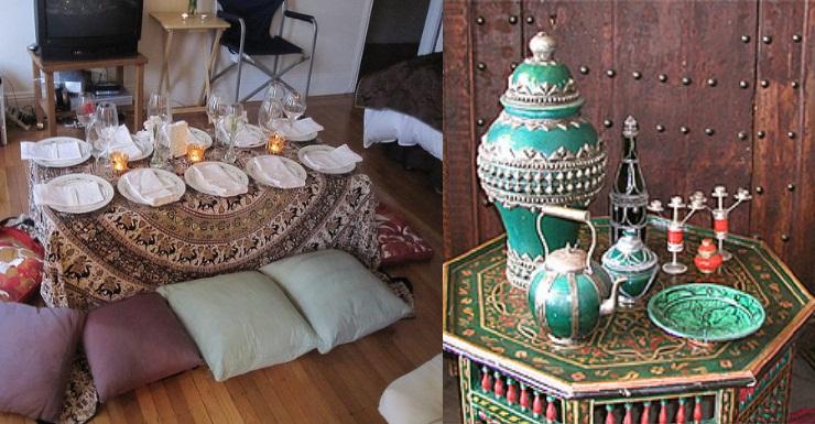 moroccon dinner theme