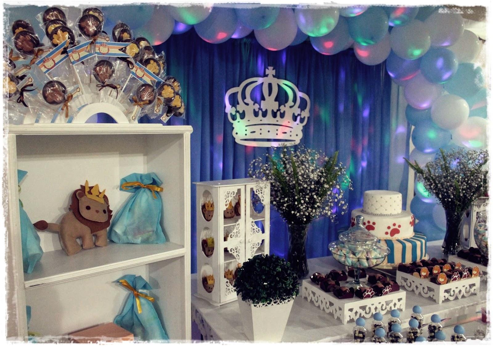 decoração festa rei leão