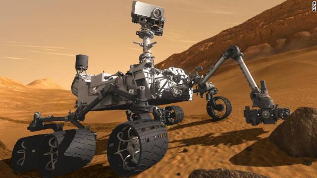 La NASA envía al 'Curiosity' a explorar un cráter en Marte