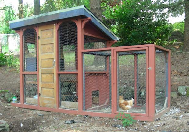 Backyard Chicken Coops Designs